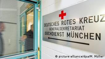 Немецкий Красный Крест, секретариат службы поиска людей (фото из архива)