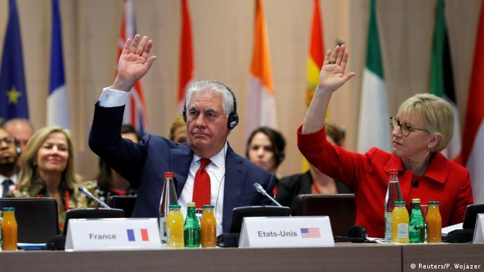 Рекс Тиллерсон поддержал создание Международного партнерства против безнаказанности в отношении применения химического оружия