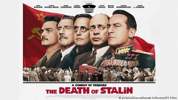 Filmposter The death of Stalin (picture-alliance/Everett Collection/IFC Films)