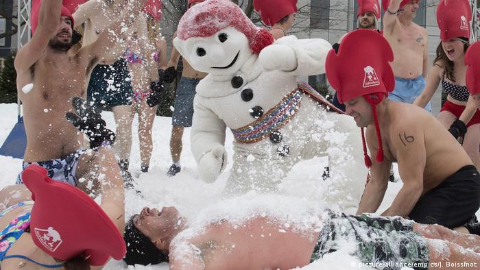 Spanien Karneval in Quebec (picture-alliance/empics/J. Boissinot)