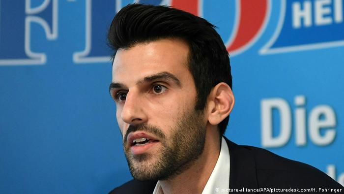 Austrian FPÖ candidate Udo Landbauer