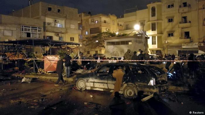 Lybien Anschlag in Bengasi (Reuters)