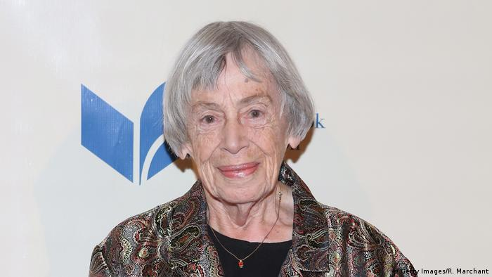 Ursula K. Le Guin in 2014 (Getty Images/R. Marchant)