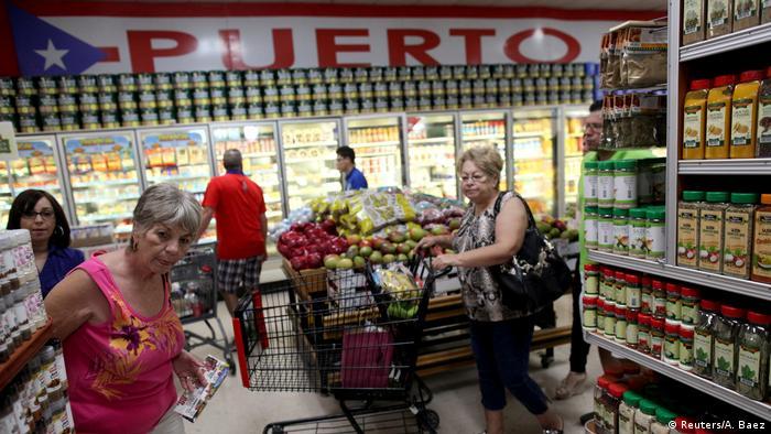 Supermercado en Florida con productos de Puerto Rico.