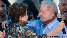 Brasilien Wahlkampf Luiz Inacio Lula da Silva