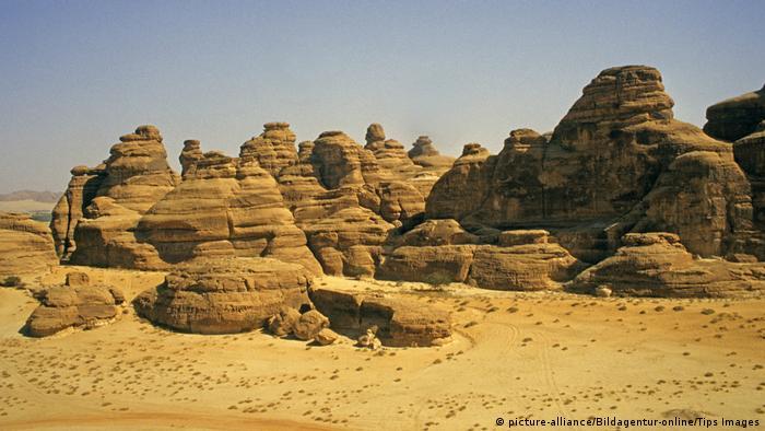Gurun Nefud di Arab Saudi (picture-alliance/Bildagentur-online/Tips Images)
