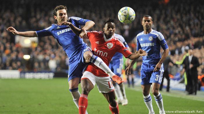 Chelsea v Benfica Yannick Djalo (picture-alliance/dpa/A. Rain)