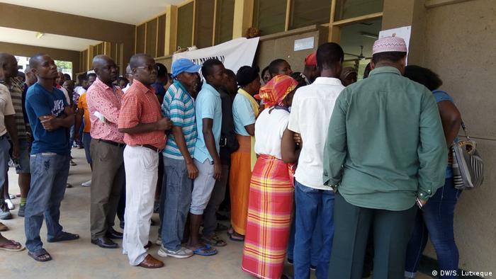 Mosambik Zwischenwahlen in Nampula (DW/S. Lutxeque)