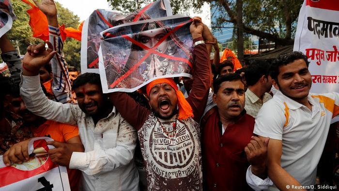 Indien Protest gegen Film Padmavat /Padmavati (Reuters/D. Siddiqui)
