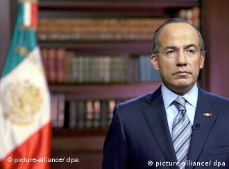 Der mexikanische Präsident Felipe Calderón (Foto: dpa)