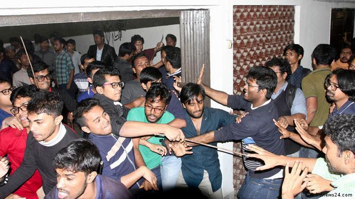 Bangladesch Gewalt unter Studentengruppen