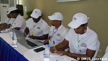 Mosambik Nampula Zwischenwahlen Observadores eleitorais
