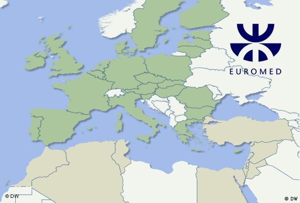 Europa-Karte (Foto: DW)