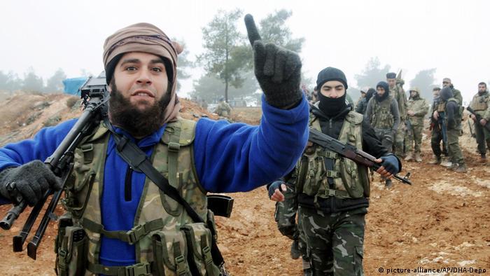 Syrien Operation Olivenzweig FSA Kämpfer