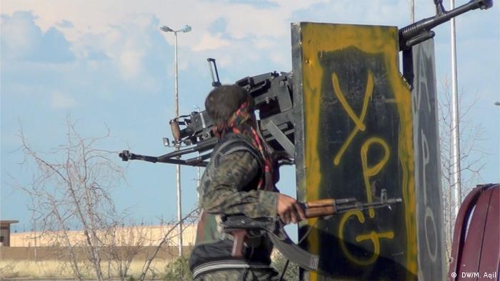 آمریکا از یگانهای مدافع خلق با تجهیز و آموزش نظامی پشتیبانی میکند
