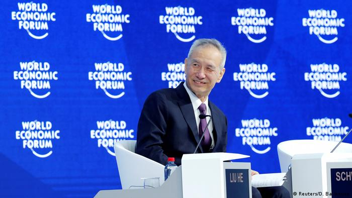 Weltwirtschaftsforum 2018 in Davos | Liu He, China (Reuters/D. Balibouse)