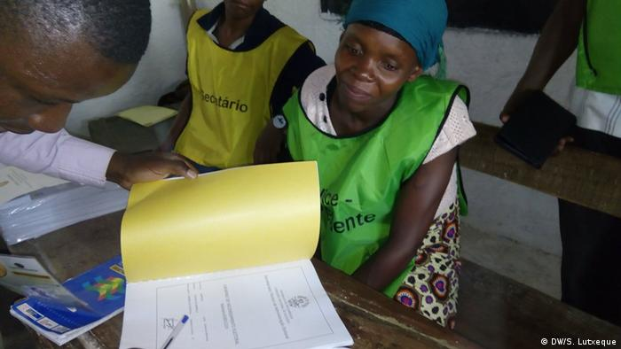 Mosambik Zwischenwahl in Nampula