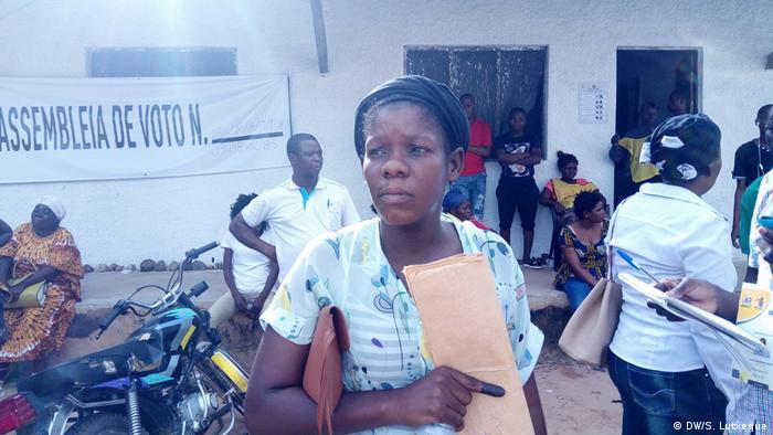 Mosambik Zwischenwahl in Nampula | Luísa Morroviça (DW/S. Lutxeque)