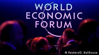 Participants at the World Economic Forum