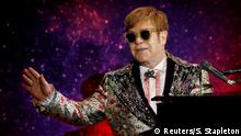 USA New York - Elton John gibt seine Finale Tour bekannt Farewell Yellow Brick Road