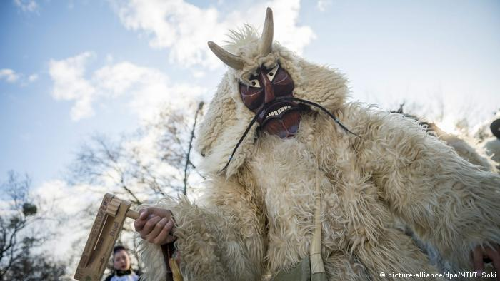 Karneval in Ungarn (picture-alliance/dpa/MTI/T. Soki)