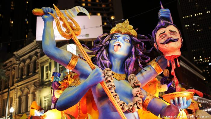 USA Karneval New Orleans, Louisiana (picture-alliance/dpa/D. Anderson)