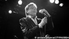 The English post-punk band The Fall performs a live concert at Vulkan Arena as part of Oslo Psych Festival 2016. Here singer, songwriter and musician Mark E. Smith is seen live on stage. Norway, 12/11 2016.  