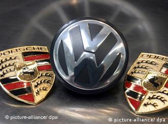 Porsche, VW logos