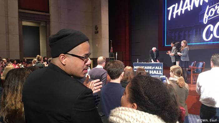 Bernie Sanders's Medicare for All Town Hall (DW/A. Essif )
