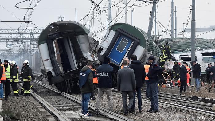 Italien Mailand Zugunglück (Reuters)