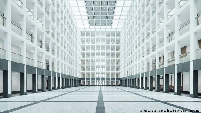 Фойє нової будівлі Федеральної розвідувальної служби