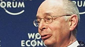 World Economic Forum Klaus Schwab