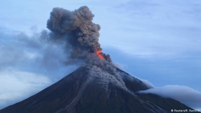 Philippinen Eruption Vulkan Mayon Reuters R Ranoco