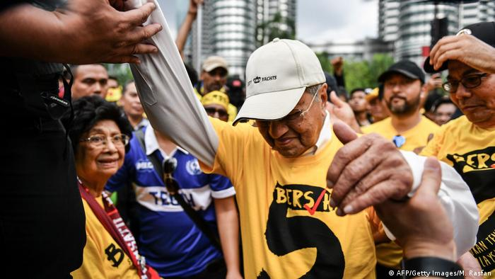 Malaysia Mahathir Mohamad (AFP/Getty Images/M. Rasfan)