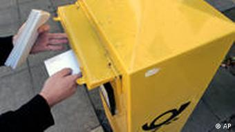 Deutsche Post box