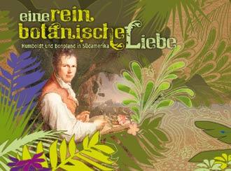 Eine rein botanische Liebe. Humboldt und Bonpland in Südamerika (CD-Cover)