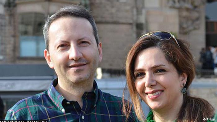 Iran Ahmadreza Djalali und seine Frau Vida Mehrannia