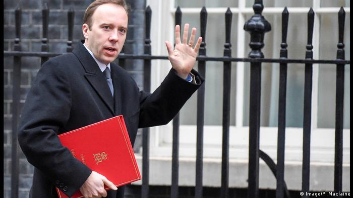 Britanski ministar zdravstva Matt Hancock