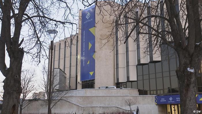 Bulgarien EU-Innenminister tagen zu blockierter Asylreform und Grenzschutz in Sofia   Kulturpalast
