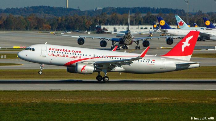 Fluggesellschaft Air Arabia Maroc Airbus A320-214 (imago/R. Wölk)