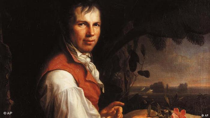 Portrait painting Alexander von Humboldt (AP)