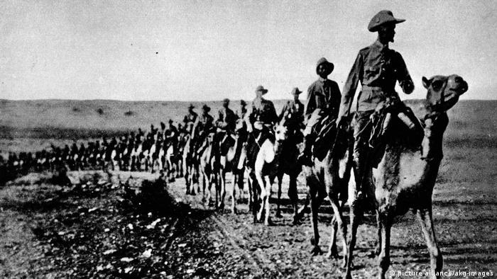 Deutsch-Südwestafrika Hottentottenaufstand Hauptmann Willke (picture alliance/akg-images)
