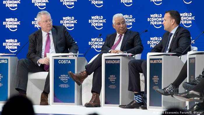 A panel at the World economic Forum in Davos