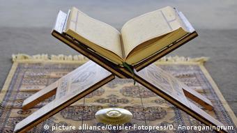 Deutschland Koran in der Penzberger Moschee