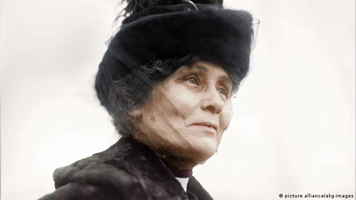 Uk Suffragetten | Emmeline Pankhurst (picture alliance/akg-images)