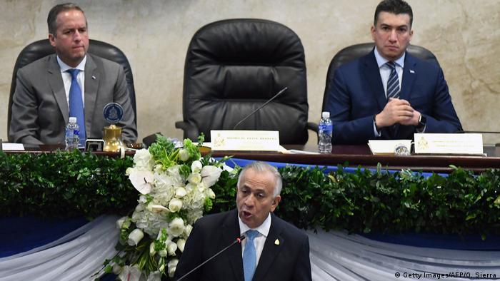 Honduras Konstitution des neuen Parlaments in Tegucigalpa | Mauricio Oliva (Getty Images/AFP/O. Sierra)