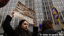 USA Protest gegen Shutdown und für DACA in New York