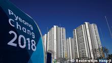 Südkorea Pyeongchang 2018 - Olympisches Dorf in Gangneung