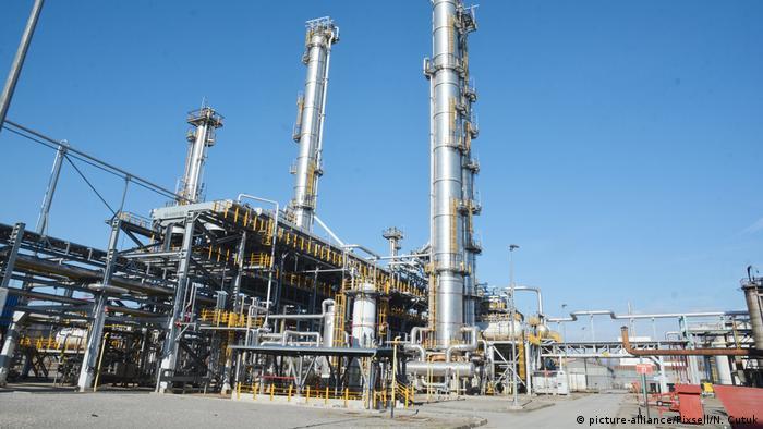 Kroatien INA Raffinerie in Sisak