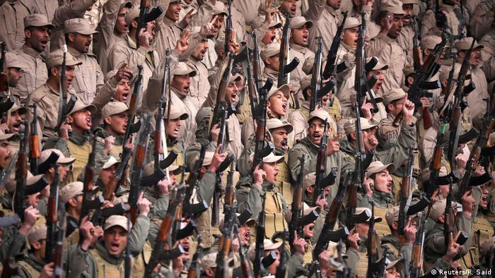 Syrien kurdische Kämpfer in Hasaka